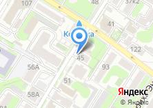 Компания «АТОМ» на карте