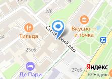 Компания «Московский драматический театр им. А.С. Пушкина» на карте