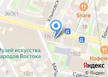 Компания «Банк Экспо Финанс» на карте