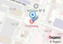 Компания «МеЦеНаТ» на карте