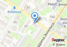 Компания «Кведо» на карте