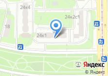 Компания «Продуктовый магазин на Симферопольском бульваре» на карте
