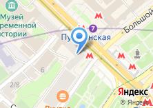 Компания «Мастерская по изготовлению ключей и ремонту дверей на Тверской» на карте