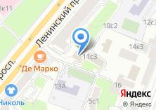 Компания «РЭП района Якиманка» на карте