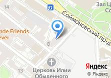 Компания «Артмедика» на карте