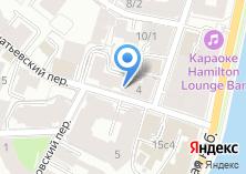 Компания «Инфопространство» на карте