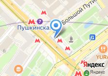 Компания «Станция Пушкинская» на карте