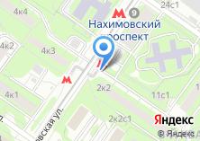 Компания «Станция Нахимовский проспект» на карте
