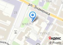 Компания «Знаменка» на карте