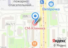 Компания «Стройгазмонтаж» на карте