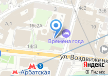 Компания «Юридический центр Москвы» на карте