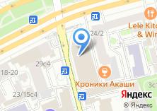 Компания «Газета.Ру» на карте