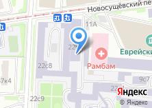Компания «Московский государственный университет путей сообщения» на карте