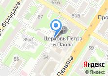 Компания «Бизнес-аналитика» на карте
