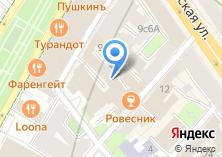 Компания «Тискино» на карте
