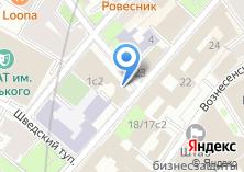 Компания «Аллега» на карте