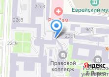 Компания «Российский университет транспорта» на карте