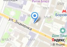 Компания «Центр сертификации социальных предприятий» на карте