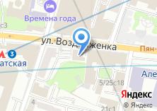 Компания «Банк Советский» на карте