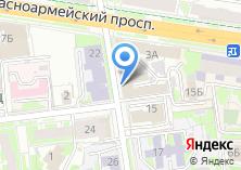 Компания «Адвокатское бюро Советского района» на карте