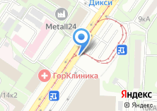 Компания «Москворецкий рынок» на карте
