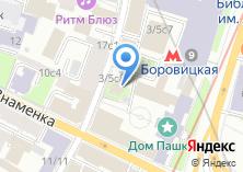 Компания «Храм Святителя Николая в Старом Ваганькове» на карте