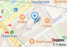 Компания «Тверской» на карте
