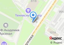 Компания «Автостоянка на проспекте Ленина» на карте