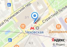 Компания «Станция Чеховская» на карте