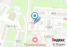 Компания «Инженерная служба района Чертаново Южное» на карте