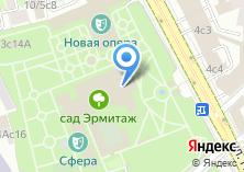 Компания «Каток Каретный Ряд» на карте
