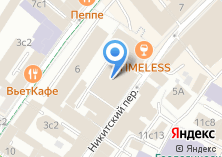 Компания «Российское энергетическое агентство» на карте