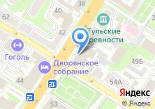 Компания «Тульская областная филармония им. И.А. Михайловского» на карте