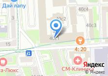 Компания «ДедЛайн.ру» на карте