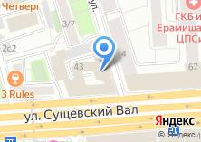 Компания «Хинкальная на Сущевке» на карте