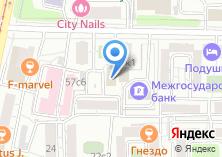 Компания «Шантильи» на карте
