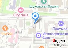 Компания «Ремонт окон Шаболовская» на карте