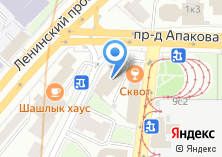 Компания «Тренер-Фигурное катание Шаболовская» на карте