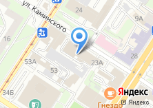 Компания «Лидертекстиль» на карте