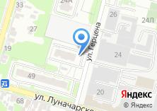 Компания «Автостоянка на ул.Гецена» на карте