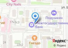 Компания «Межгосударственный банк» на карте