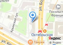 Компания «Медицинские пиявки» на карте