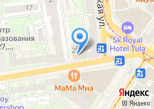 Компания «Профтрейдинг-Тула» на карте