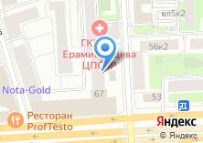 Компания «ДИК» на карте