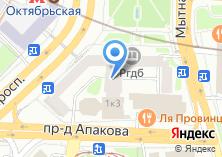 Компания «Сбарро» на карте