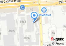 Компания «Мебель-Брв» на карте
