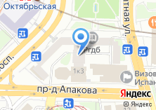 Компания «Дэ фу» на карте