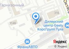 Компания «ФранцАВТО» на карте