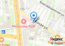 Компания «Мир колясок» на карте
