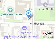 Компания «Трелонж» на карте